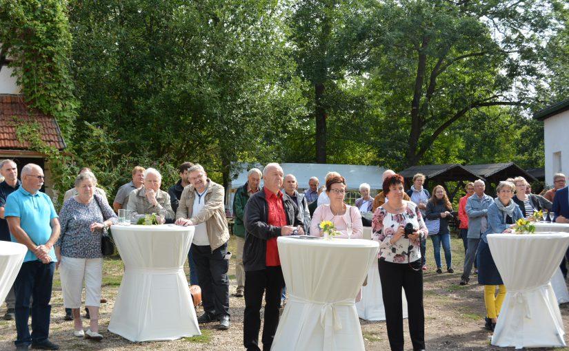 Feierliche Eröffnung der Gräfenmühle als Kreisnaturschutzstation