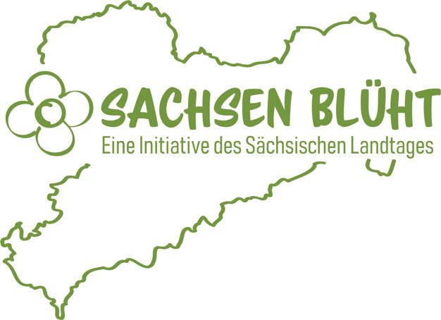 """Initiative """"Sachsen blüht"""" logo-sachsen_blueht-rgb"""